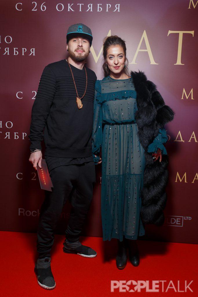 Анастасия Меськова с супругом