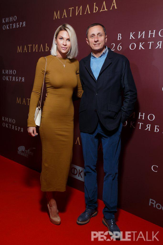 Вадим Галыгин с супругой