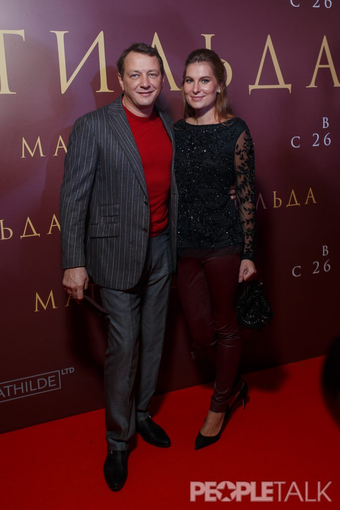 Марат Башаров с супругой