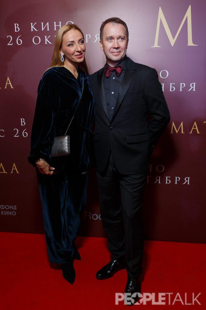 Татьяна Навка и Евгений Миронов