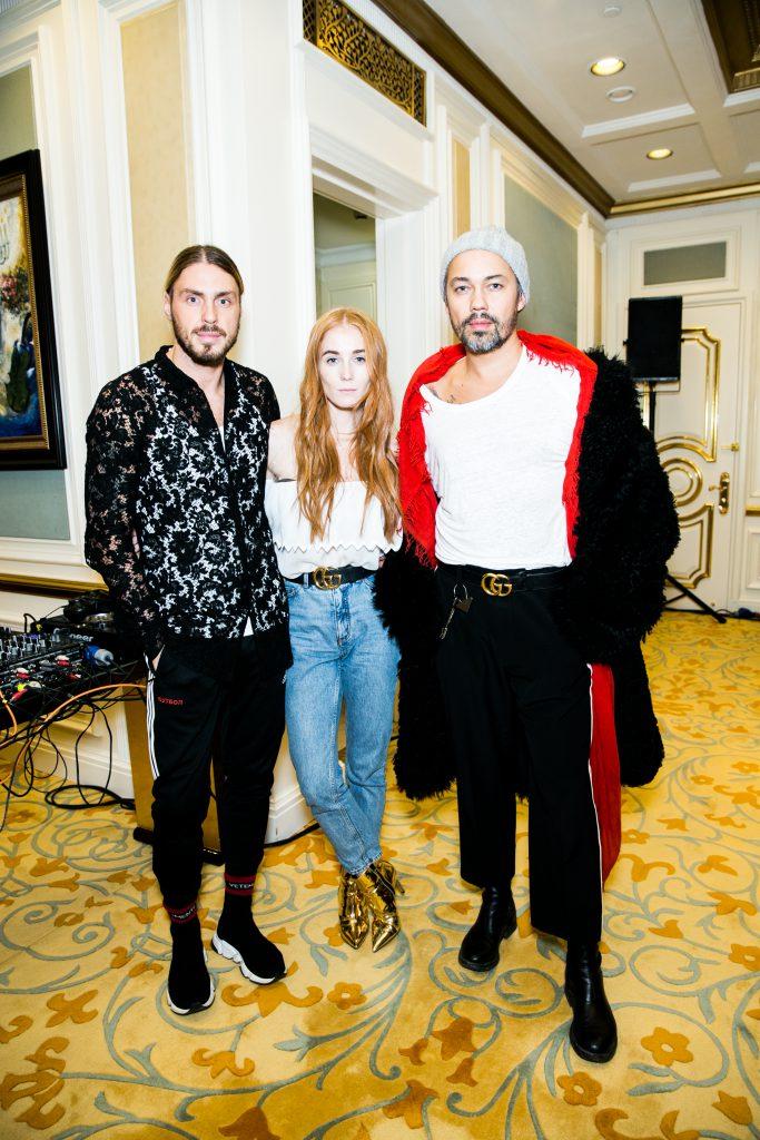 Александр Иванов, Александра Федорова и Александр Рогов