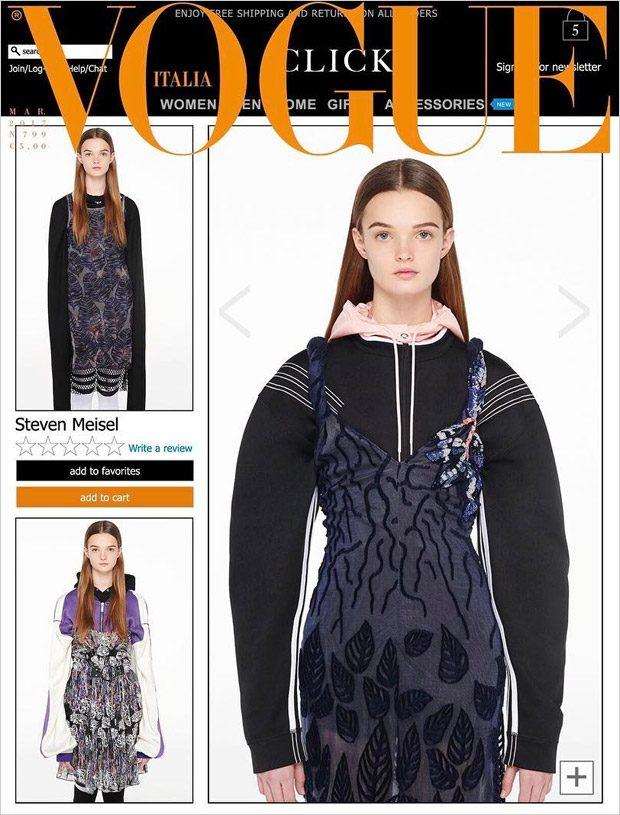 Vogue Italia, март