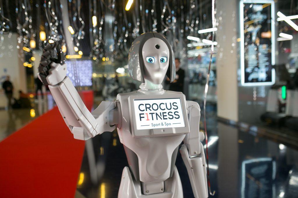 Открытие Crocus Fitness