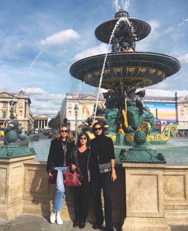 Ирина Шейк с мамой и подругой Ингой Рубинштейн