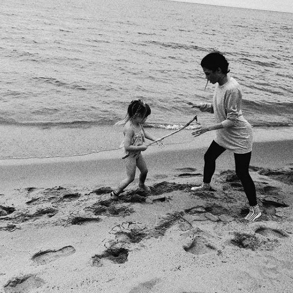 Дженна Деван и дочь Эверли