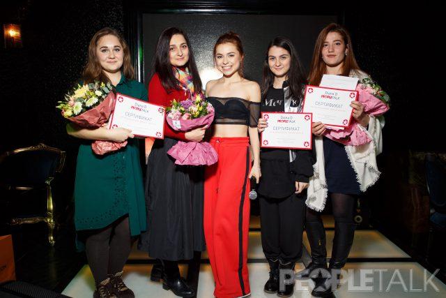 Diana D с победительницами