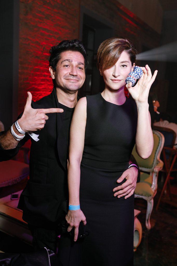 Алексей Боков и Софико Шеварднадзе