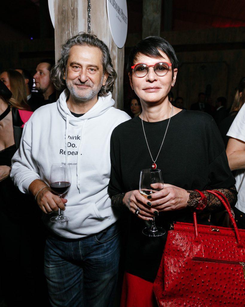 Владимир Сиротинский и Ирина Хакамада