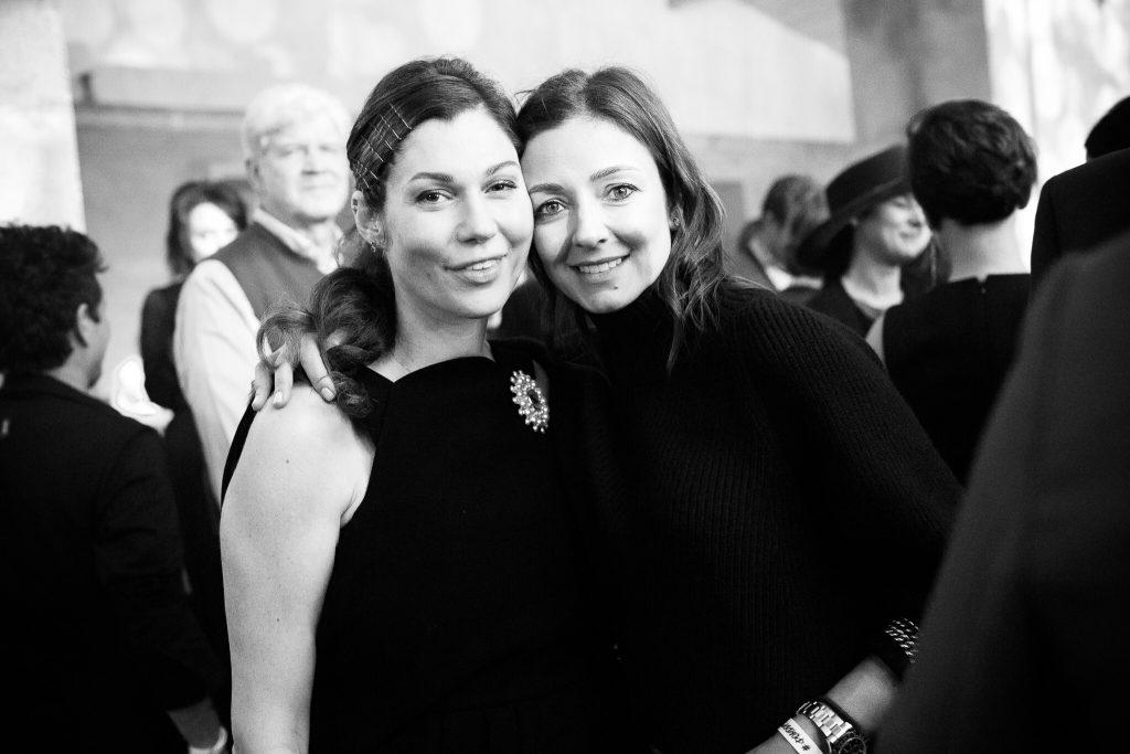 Евгения Линович и Ирина Вольская