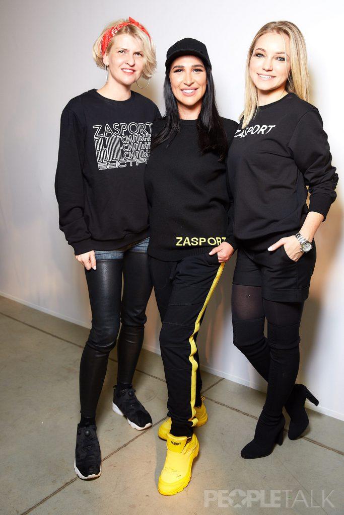 Полина Киценко, Анастасия Задорина и Инна Маликова
