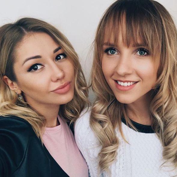 Лера Козлова и Лена Третьякова
