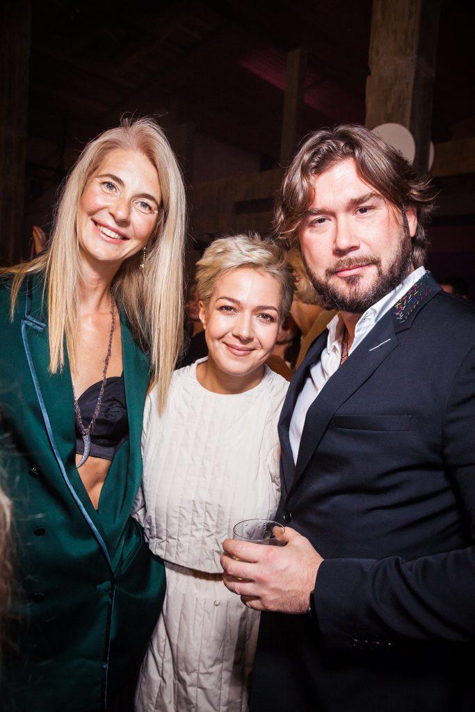 Дарья Лисиченко, Ксения Чилингарова и Станислав Лисиченко