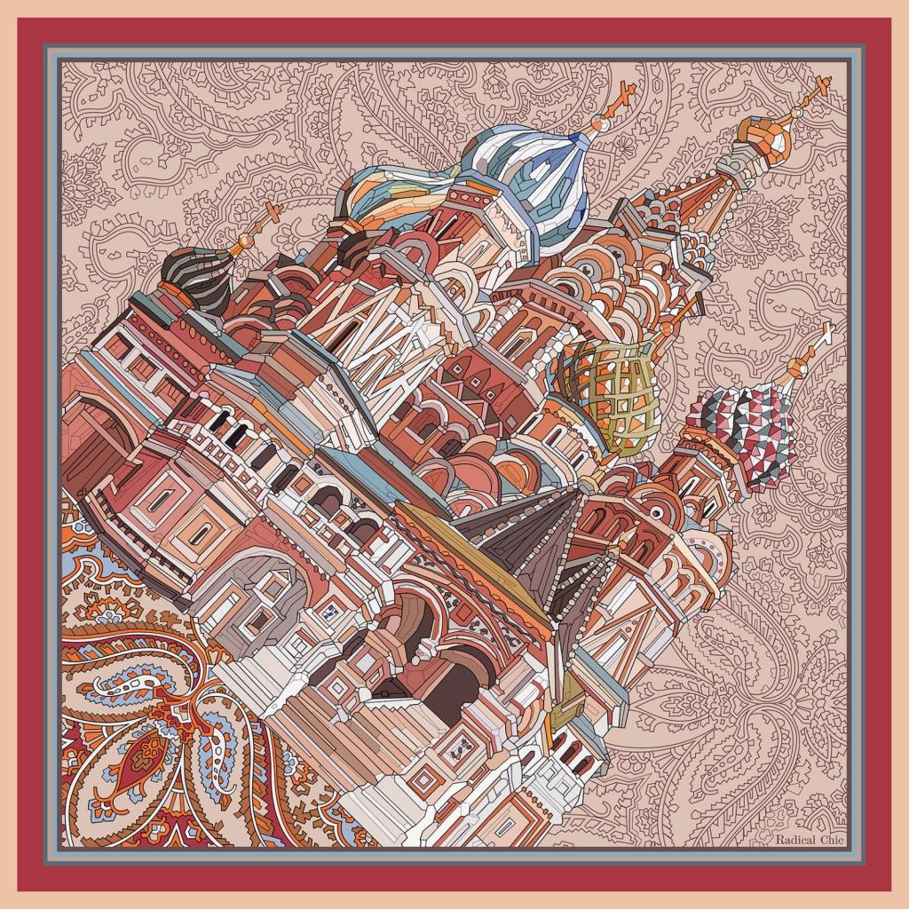 Платок Radical Chic, 13750 руб.