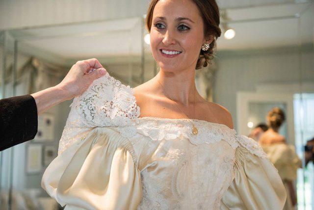 122-летнее свадебное платье