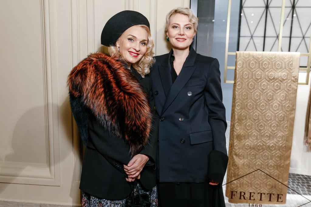 Екатерина Моисеева и Рената Литвинова