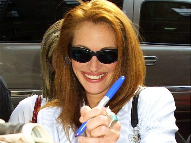 Актриса Джулия Робертс, 1990. Потому что она красотка!