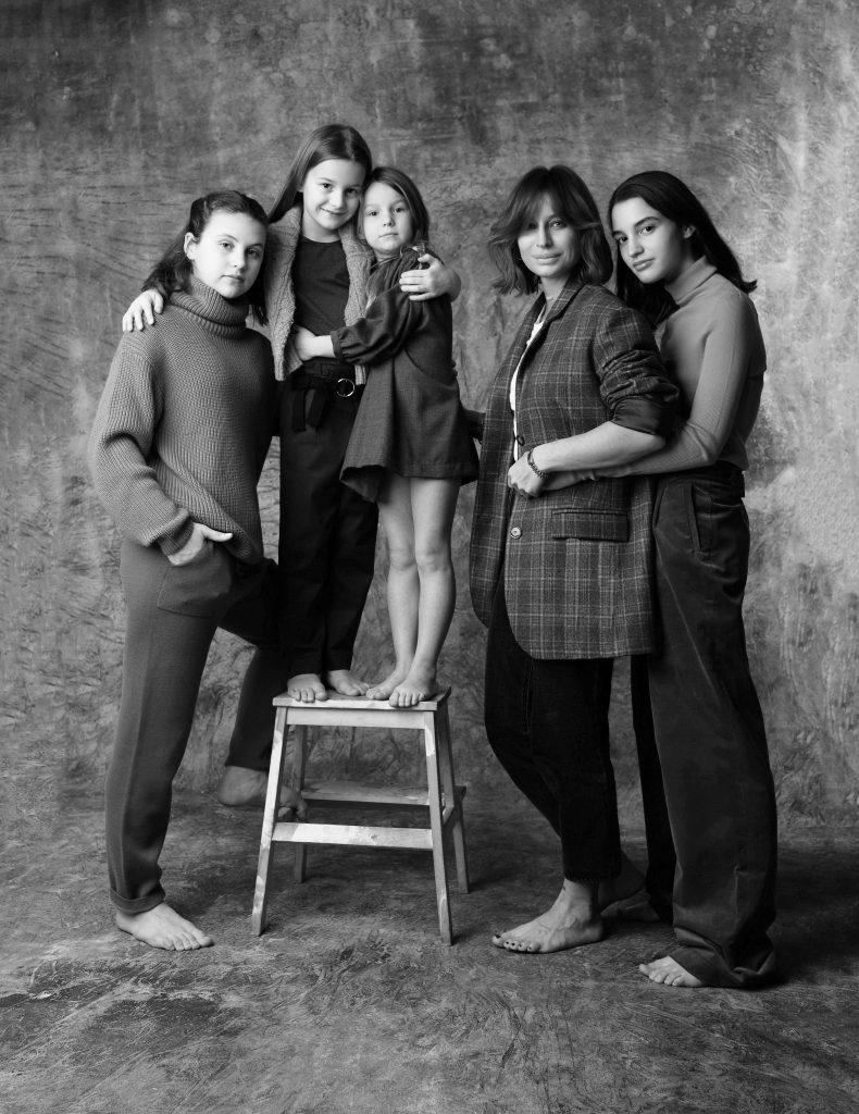 Анастасия Рябцова, фотограф и дочери Василиса, Вера, Катя, Ника