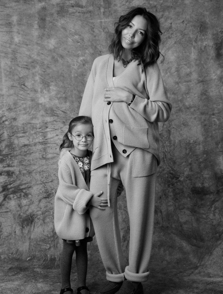 Аня Бахирева, блогер и дочь Анастасия