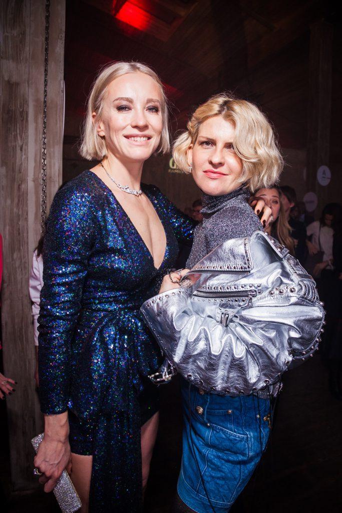 Наталья Давыдова и Полина Киценко