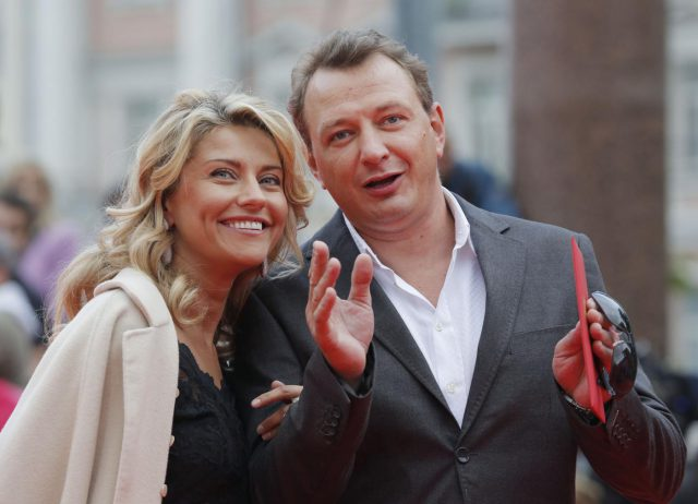 Марат Башаров и его бывшая жена Екатерина Архарова