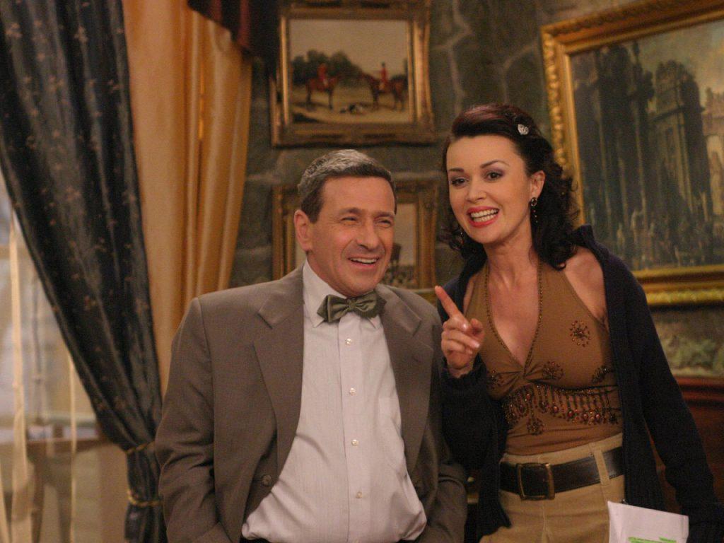 Анастасия Заворотнюк в сериале «Моя прекрасная няня»