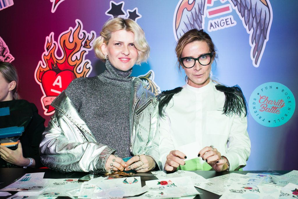 Полина Киценко и Ника Белоцерковская