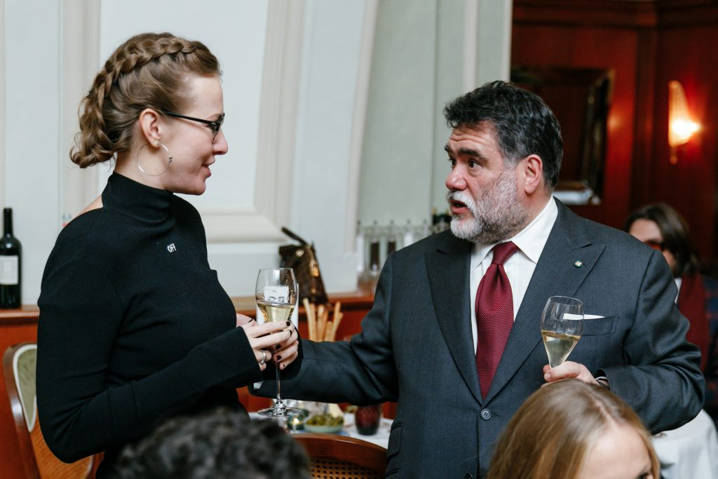 Ксения Собчак и Михаил Куснирович