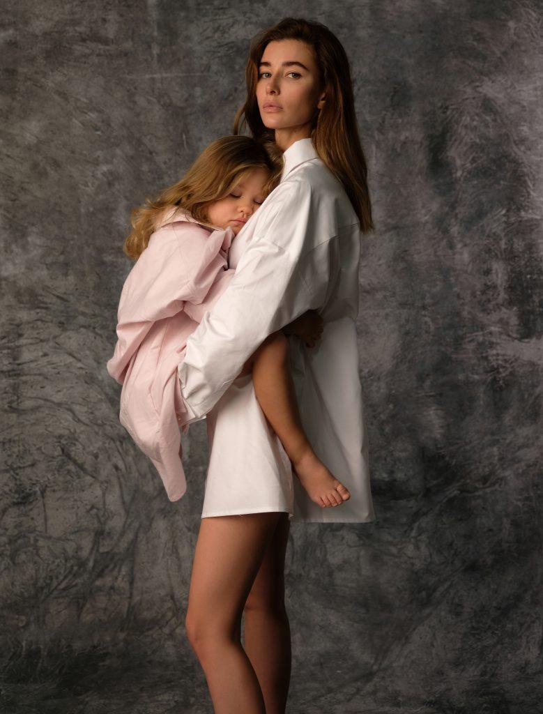 Евгения Павлин, дизайнер шляп и дочь Магдалена