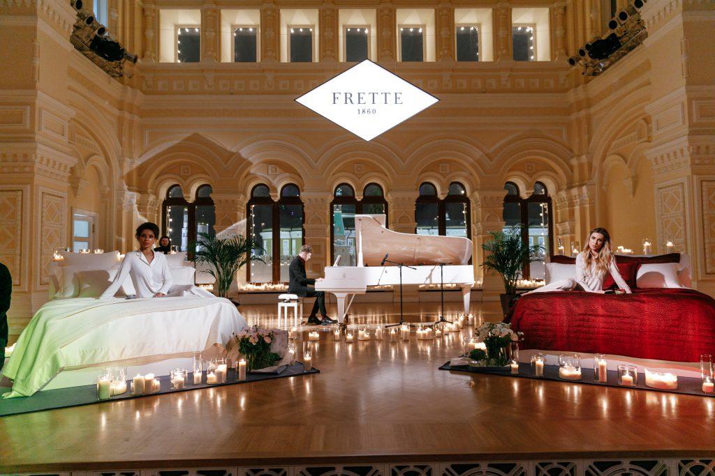 Открытие бутика Frette