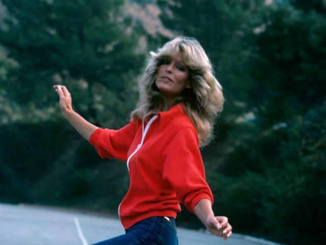 Актриса Фэрра Фосетт, 1976. Потому что была стильной, красивой, талантливой и просто ангелом Чарли