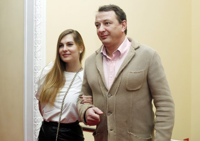 Марат Башаров и Елизаветы Шевыркова