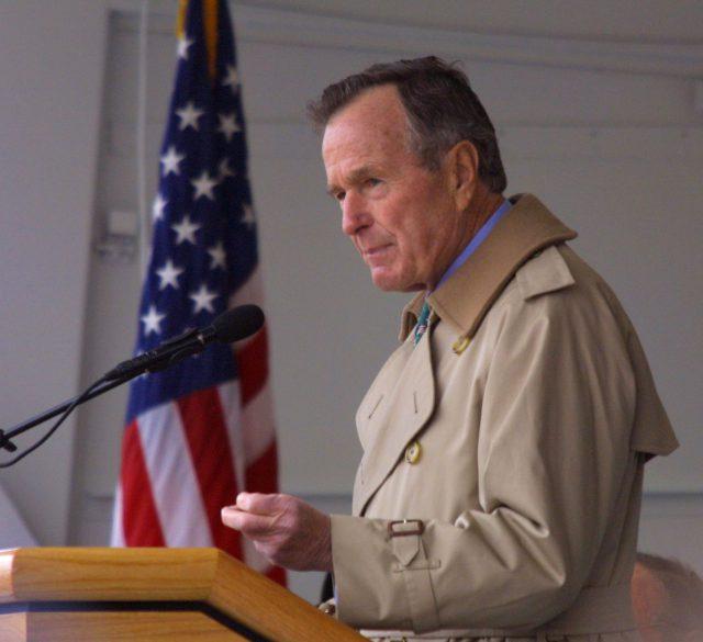 Джордж Буш-старший (2001)