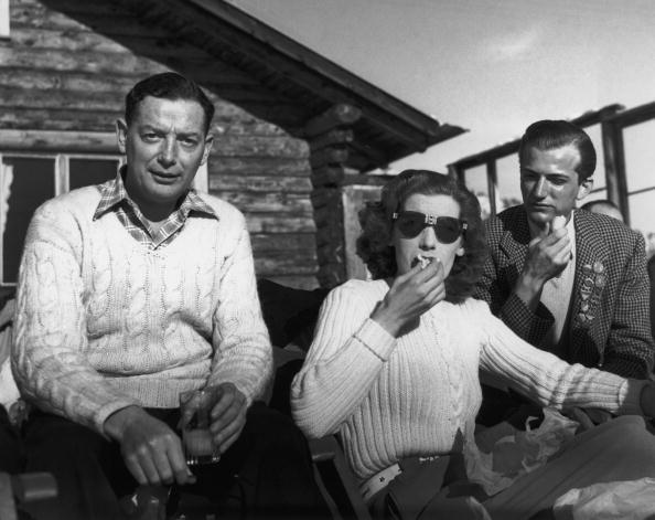 J.U.B Jamckim, Шейла Блэкберн and Клаус фон Бюлов, 1946 год