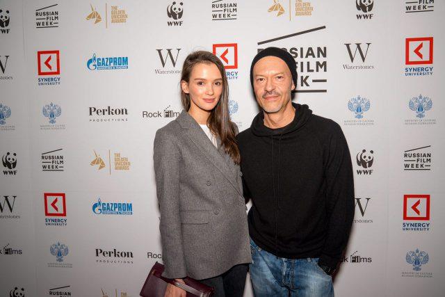 Паулина и Федор Бондарчук