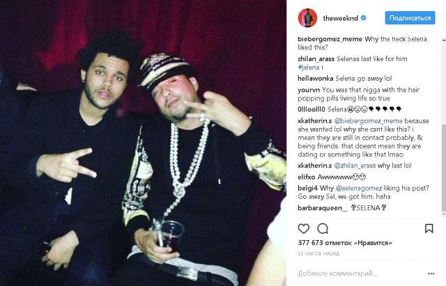 Фото из Instagram The Weeknd