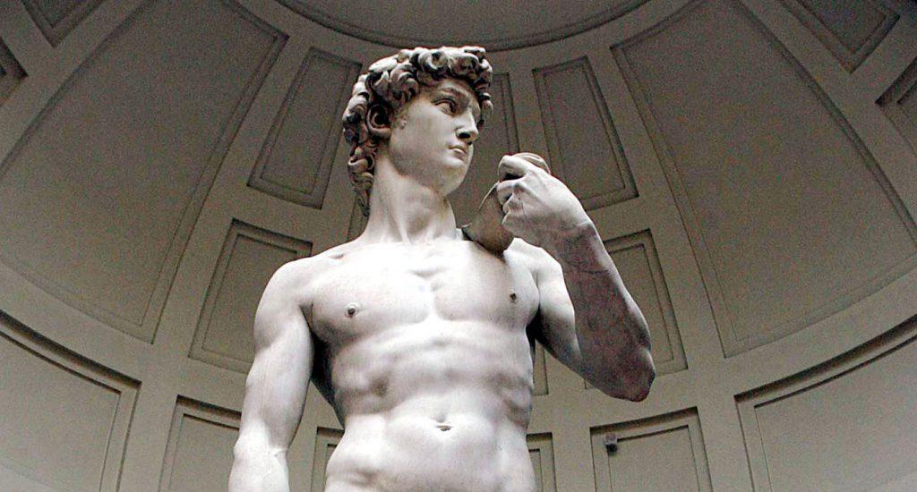 «Давид» (1504), Микеланджело