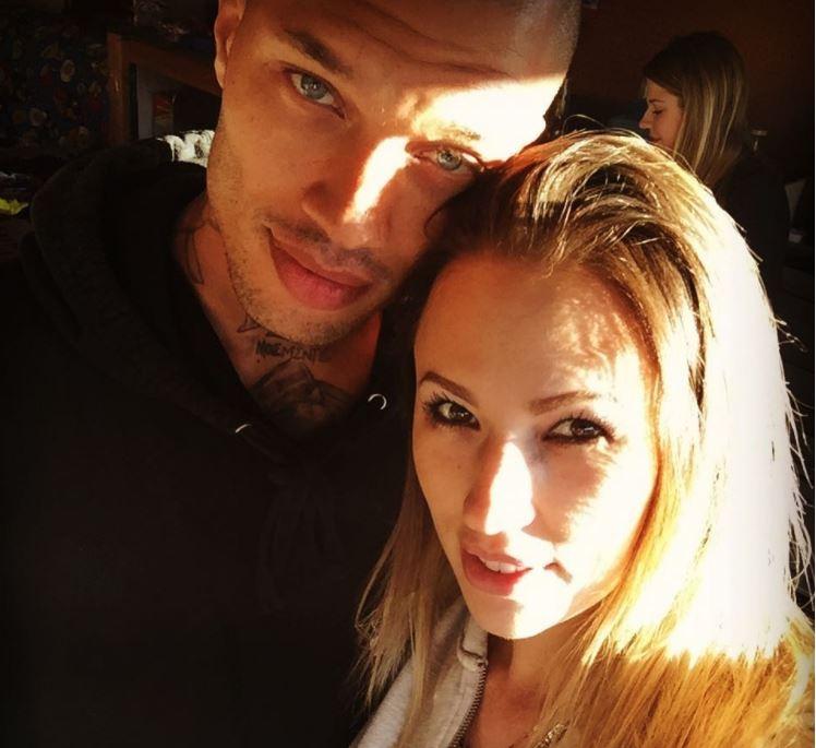 Джереми Микс с бывшей женой Мелиссой