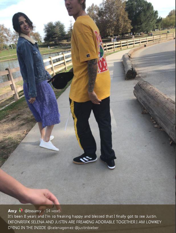 Селена и Джастин