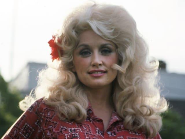Певица Долли Партон, 1981. Потому что она она королева кантри!