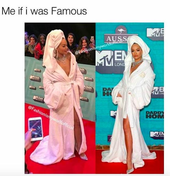 Я, если бы была знаменитой