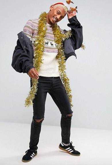 свитер с оленями, 2090 рублей, ASOS