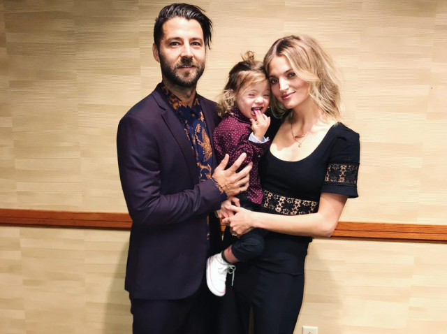 Аманда Бут с сыном и мужем