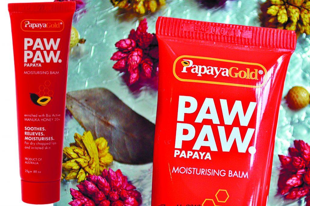 Универсальные бальзамы для тела и губ Papaya Gold