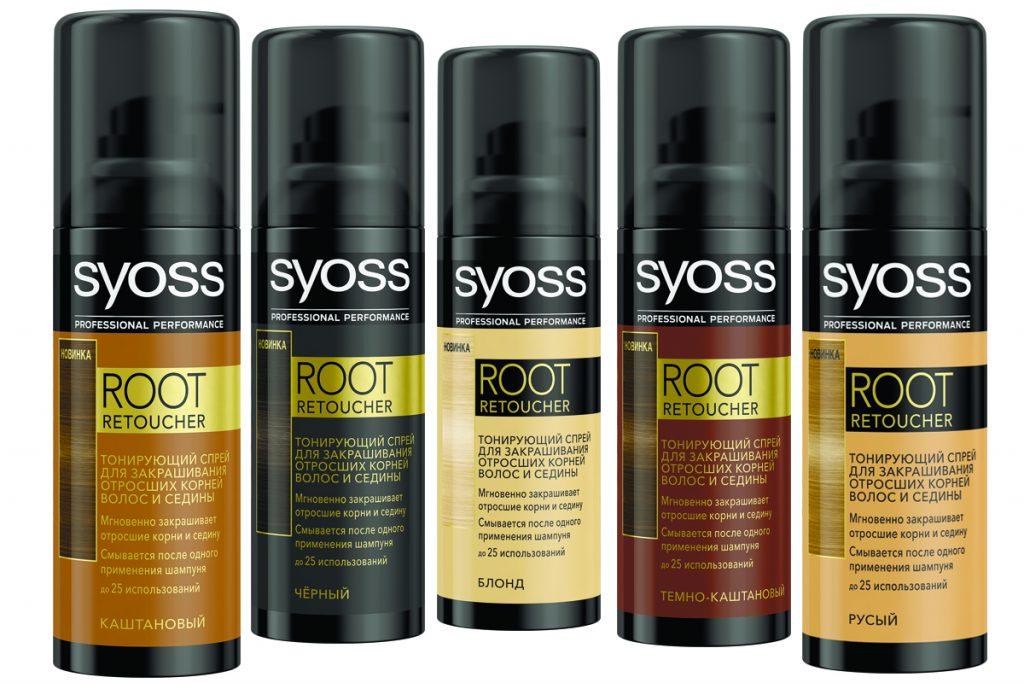 Средство Root Retoucher Syoss