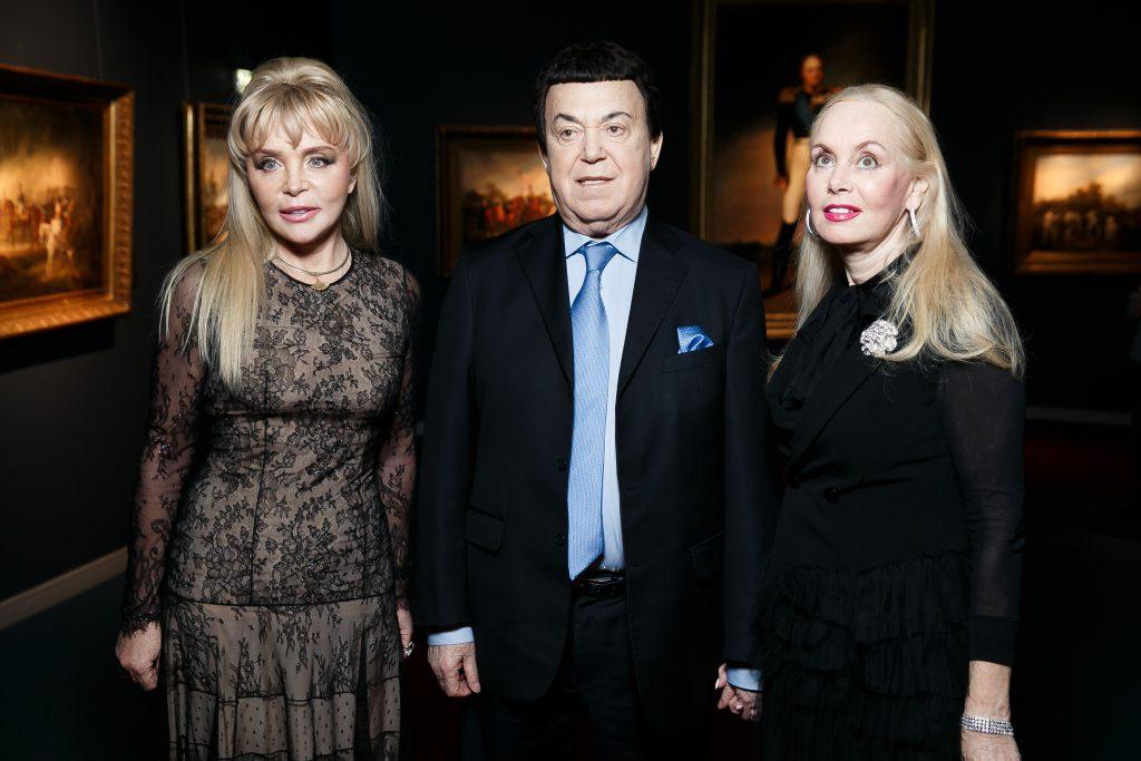 Екатерина Диброва, Иосиф и Нелли Кобзон