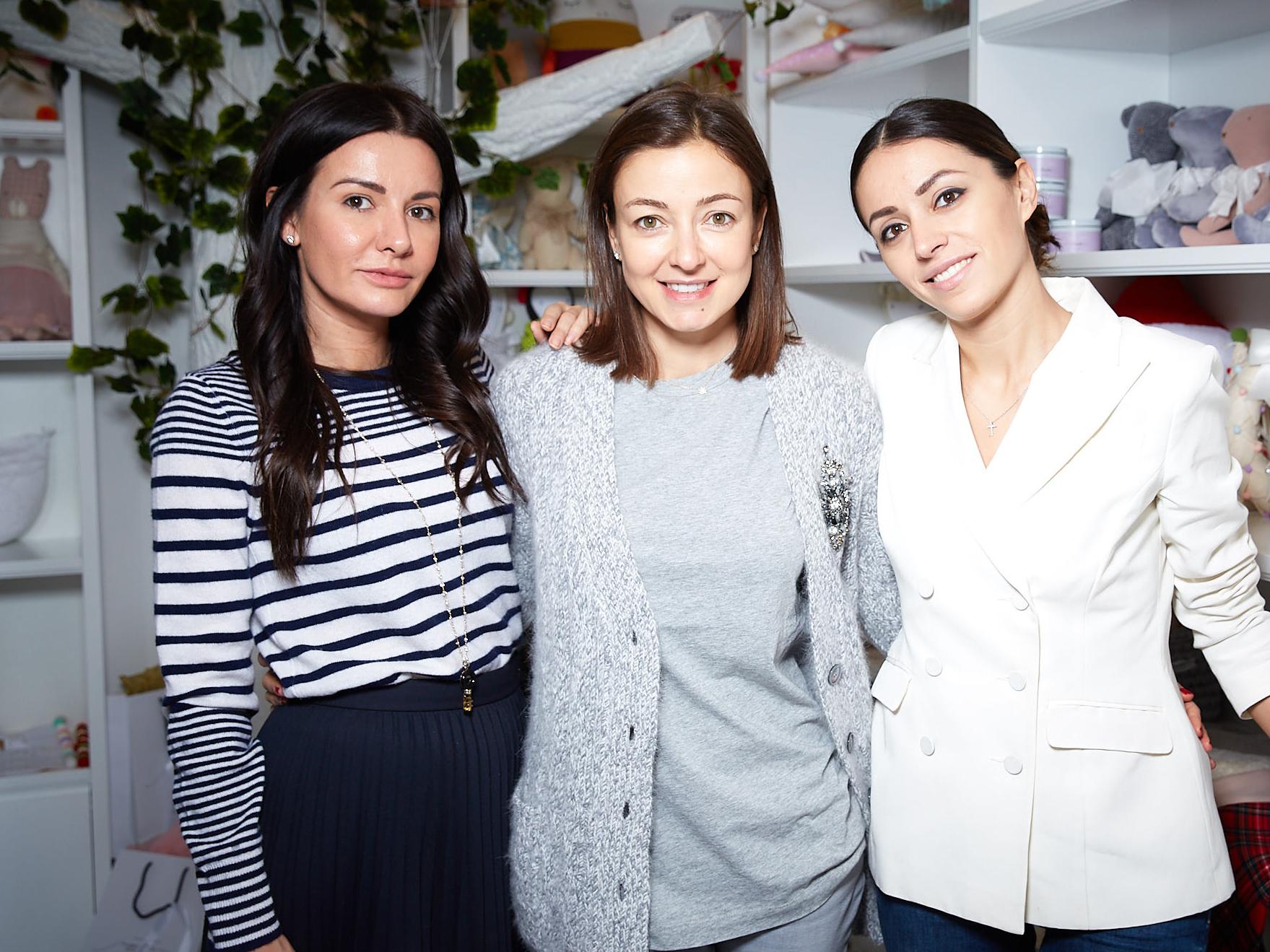 Виктория Сощенко, Ирина Вольская и Яна Кушнер