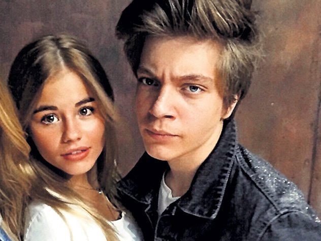Леля Баранова и Егор Клинаев