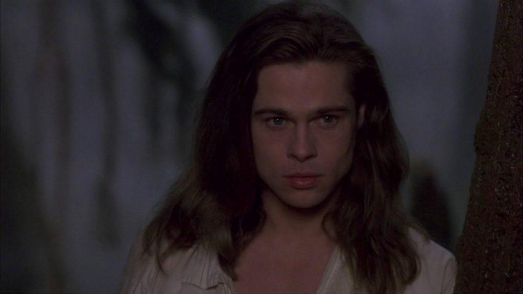 1994. «Интервью с вампиром». Волосы Питта еще никогда не были такими длинными, а взгляд - таким страстным.