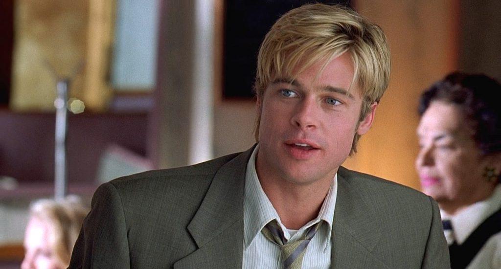 А вот как Питт выглядел в 98-м в фильме «Знакомьтесь, Джо Блэк». В нем Брэд сыграл воплощение смерти, но критики его работу не оценили - говорят, зрителя не убедил.