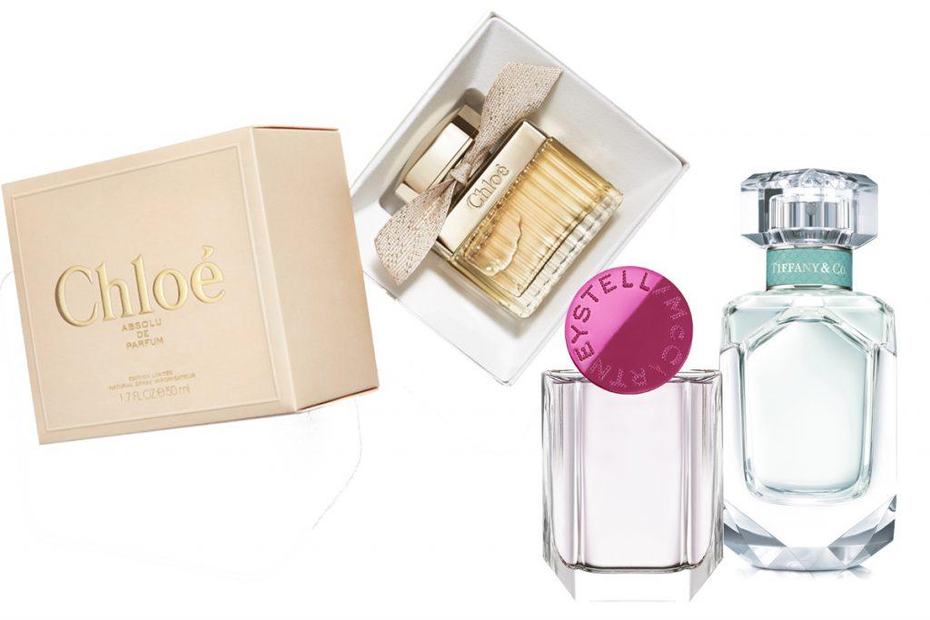 Парфюмерная вода Signature Chloe, 4370 р.; парфюмерная вода Pop Stella McCartney, 5200 р.; аромат Tiffany & Co Tiffany, 7000 р.